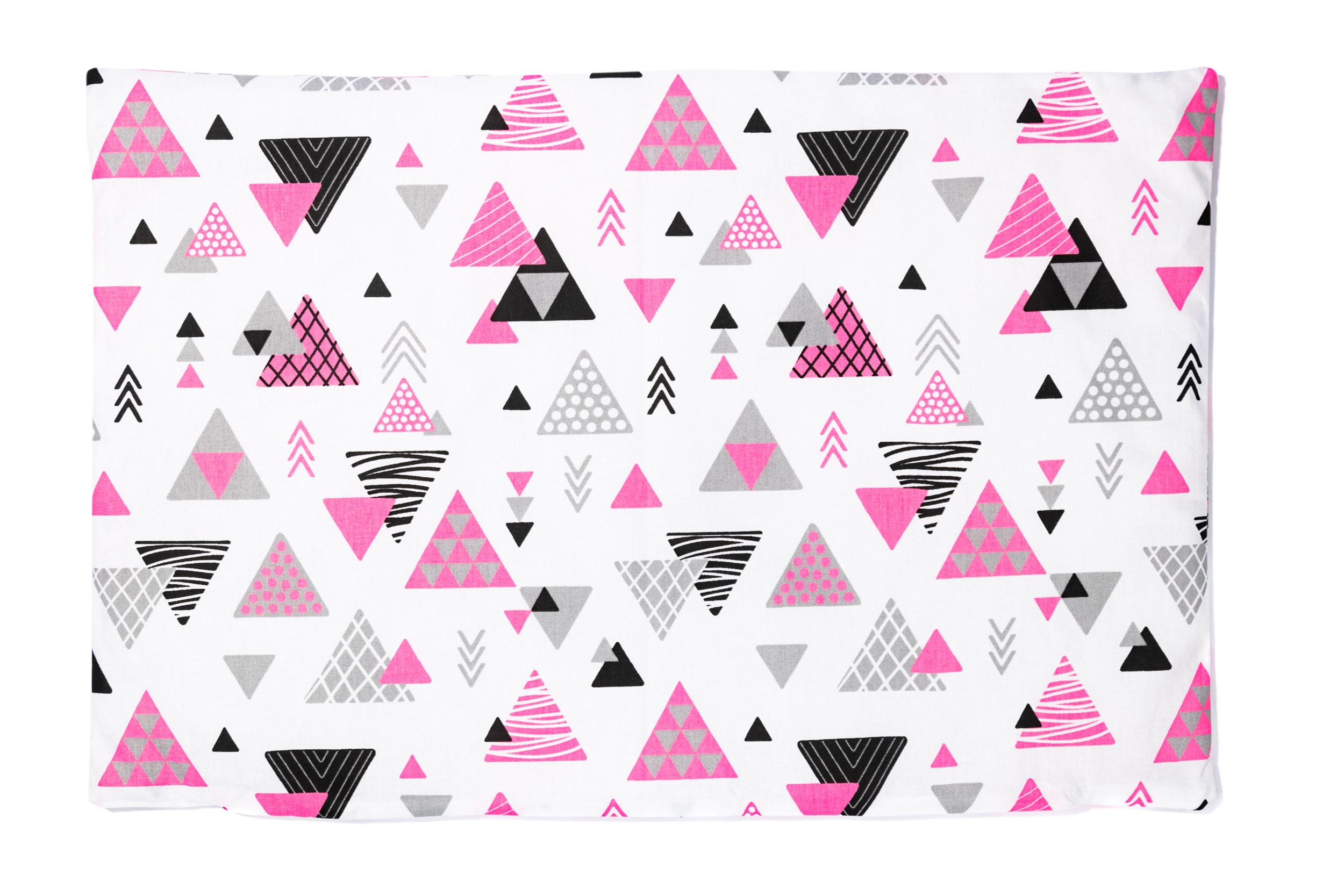 Kissenbezug 40cm x 60cm Dreiecken Rosa