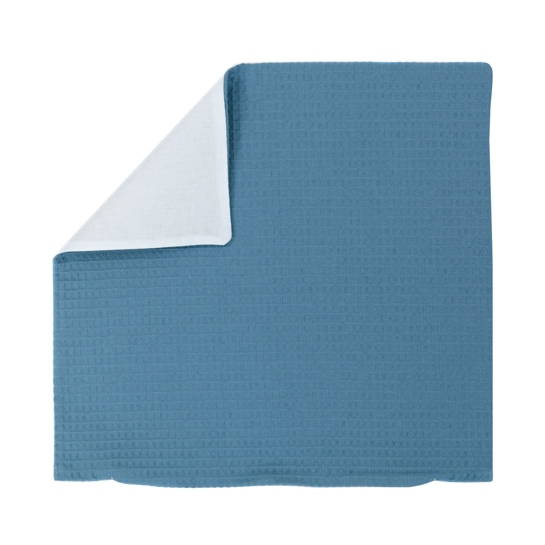 Kissenhülle Zierkissenbezug Kissenbezug ca. 40x40 cm für Kissen oder Dekokissen Blau Hellblau