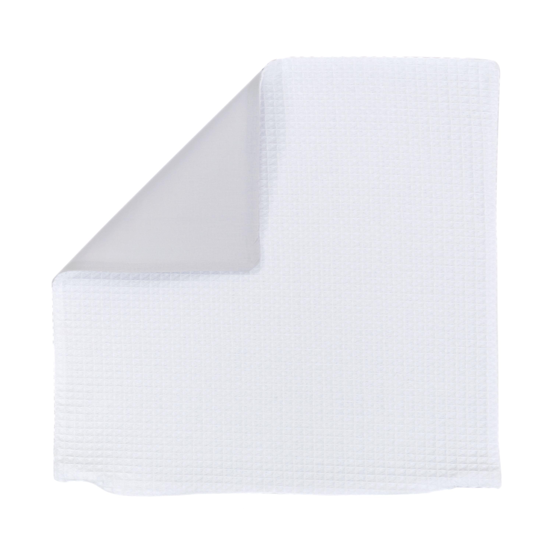 Kissenhülle Zierkissenbezug Kissenbezug ca. 50x50 cm für Kissen oder Dekokissen Weiß Hellgrau