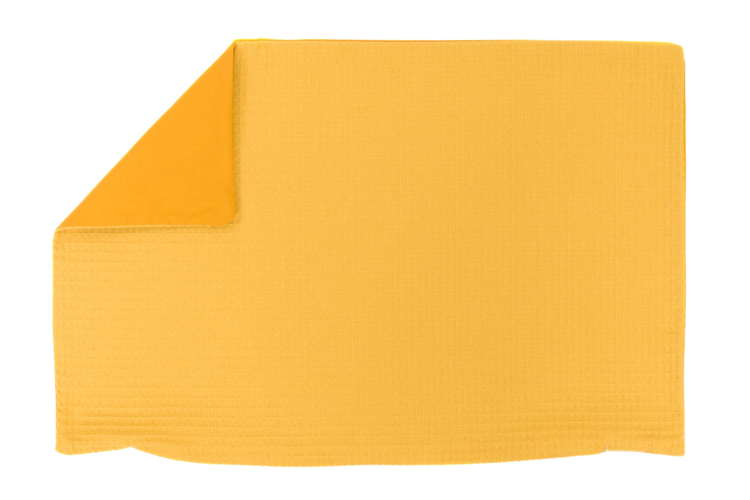 Kissenhülle Zierkissenbezug Kissenbezug ca. 60x40 cm für Kissen oder Dekokissen Gelb Senfgelb