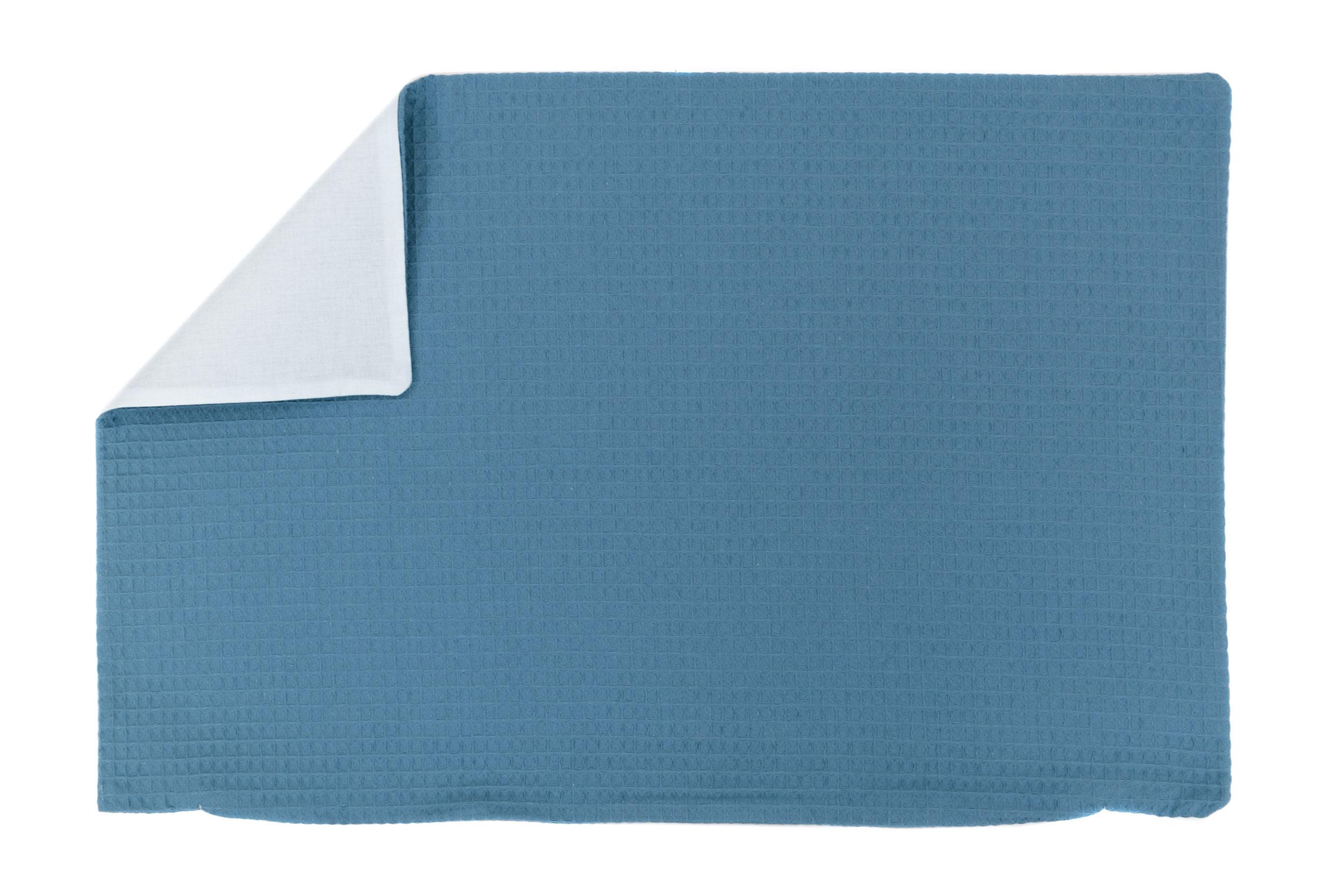 Kissenhülle Zierkissenbezug Kissenbezug ca. 60x40 cm für Kissen oder Dekokissen Blau Hellblau