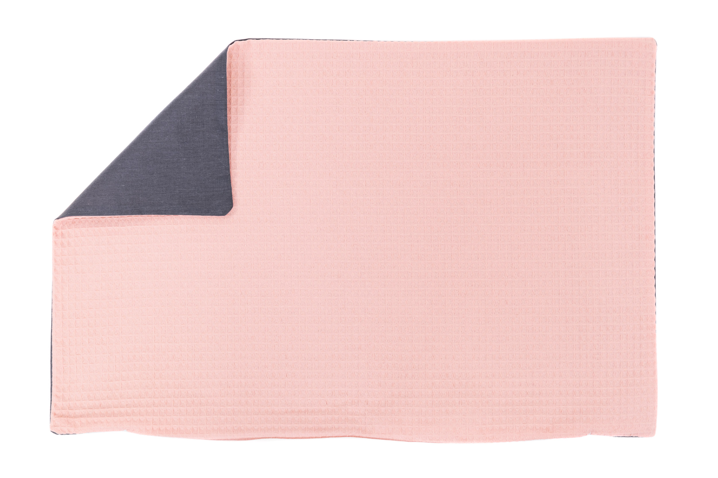 Kissenhülle Zierkissenbezug Kissenbezug ca. 60x40 cm für Kissen oder Dekokissen Rosa Anthrazit