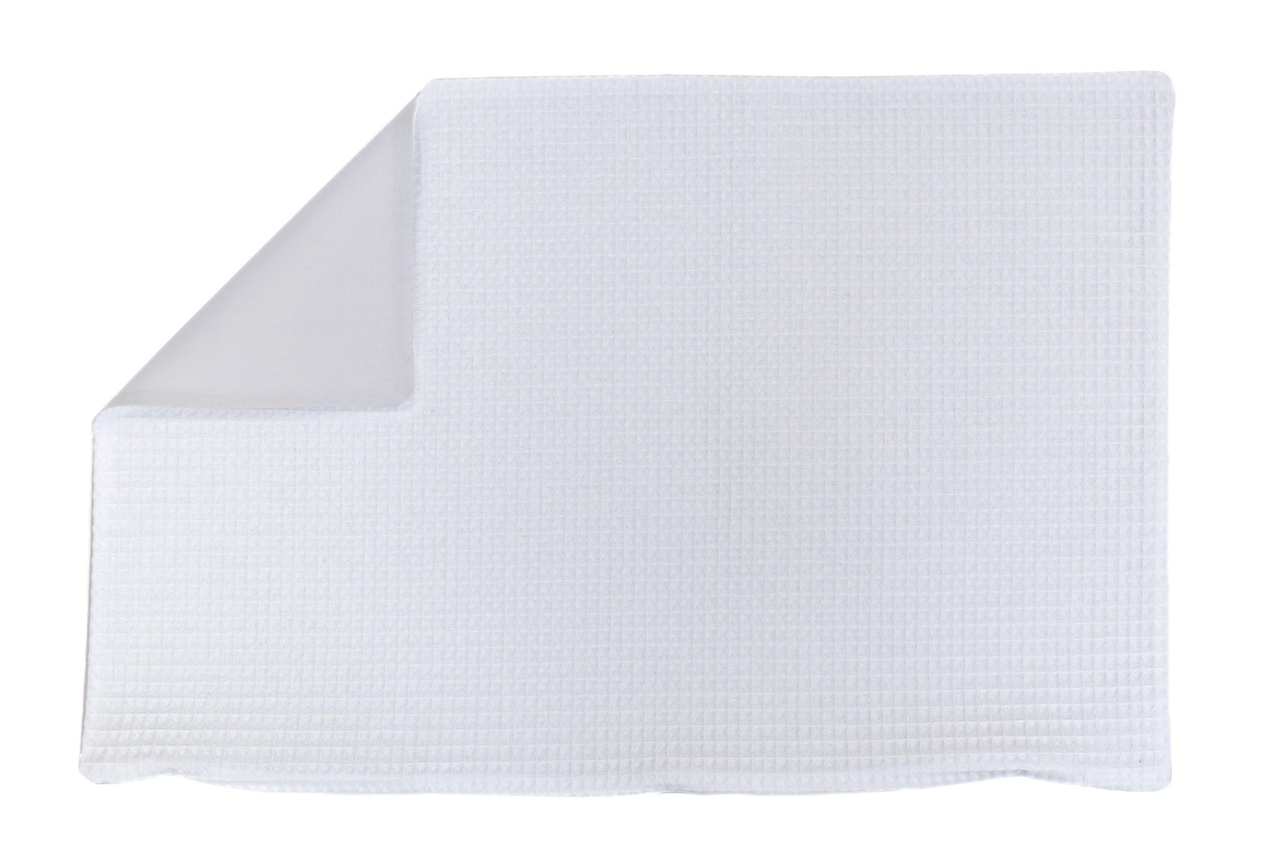 Kissenhülle Zierkissenbezug Kissenbezug ca. 60x40 cm für Kissen oder Dekokissen Weiß Hellgrau