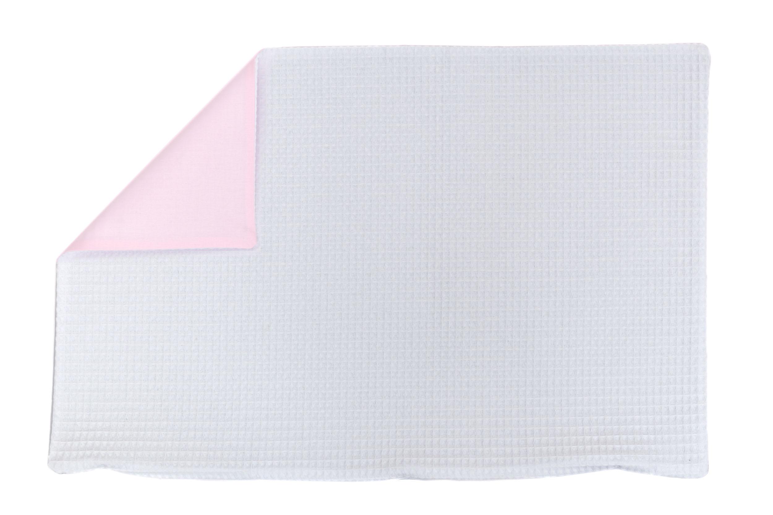Kissenhülle Zierkissenbezug Kissenbezug ca. 60x40 cm für Kissen oder Dekokissen Weiß Hellrosa