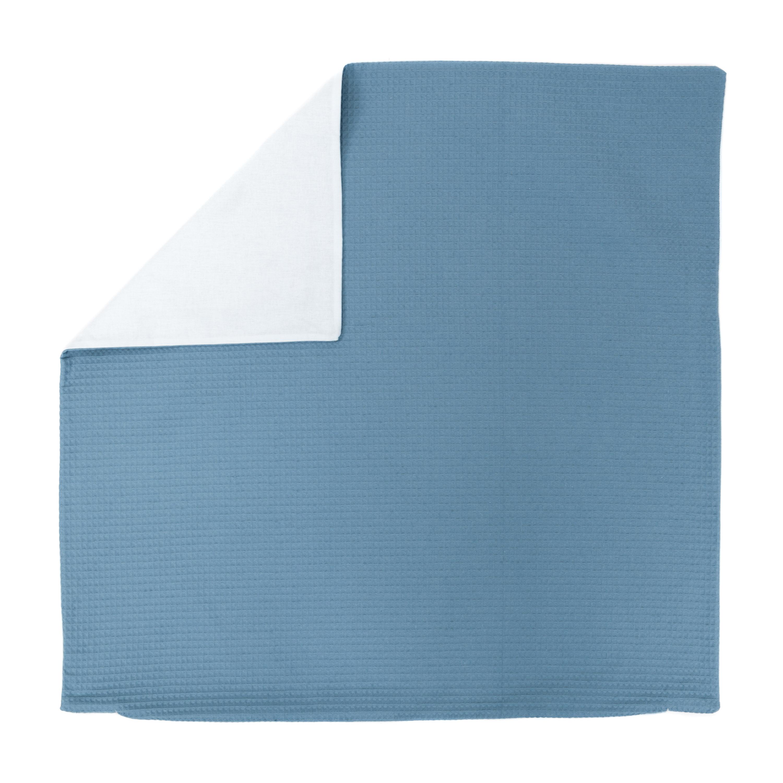 Kissenhülle Zierkissenbezug Kissenbezug ca. 80x80 cm für Kissen oder Dekokissen Blau Hellblau