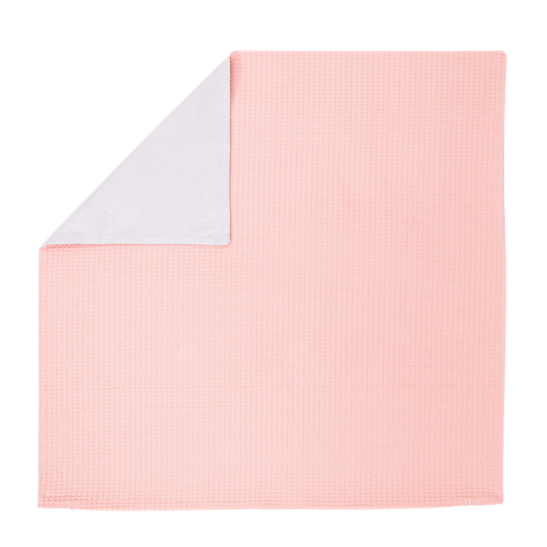 Kissenhülle Zierkissenbezug Kissenbezug ca. 80x80 cm für Kissen oder Dekokissen Rosa Hellgrau