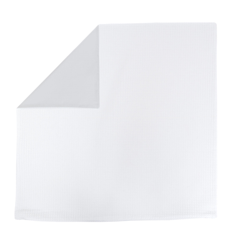 Kissenhülle Zierkissenbezug Kissenbezug ca. 80x80 cm für Kissen oder Dekokissen Weiß Hellgrau