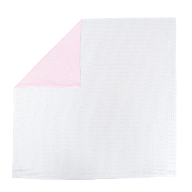 Kissenhülle Zierkissenbezug Kissenbezug ca. 80x80 cm für Kissen oder Dekokissen Weiß Hellrosa