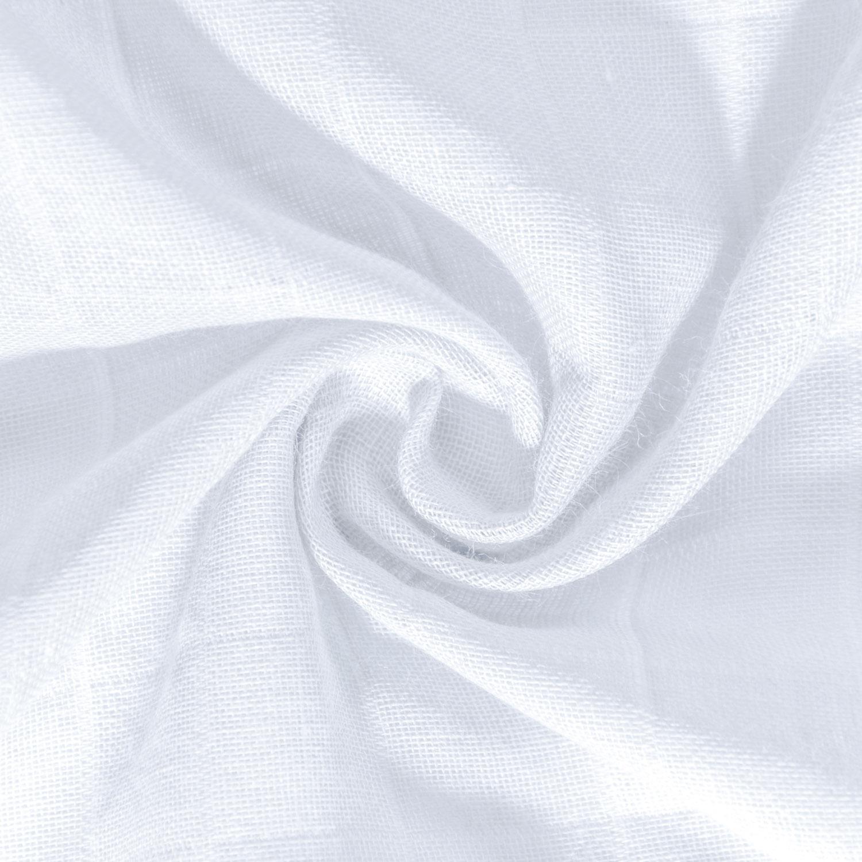 Amilian 4er Pack Mullwindeln Mullt/ücher Spuckt/ücher Musselin f/ürs Baby 70x80cm doppelt gewebt Premium Qualit/ät 100/% Baumwolle T/ÜV Rheinland gepr/üft maschinenwaschbar bis 60/° SET4
